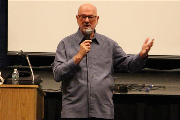 Author James Howe Visits Roslyn Middle School