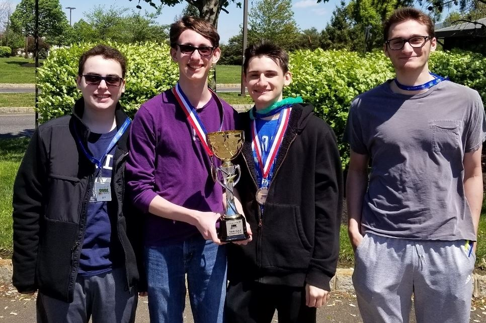 Roslyn High School students compete at Code Competition