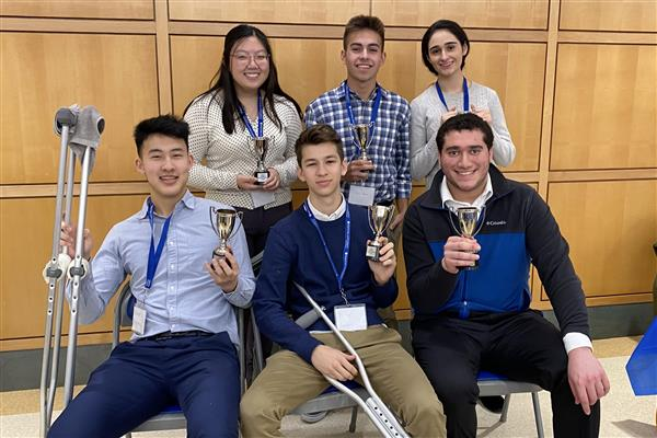 Roslyn High School Ethics Bowl Team 2020
