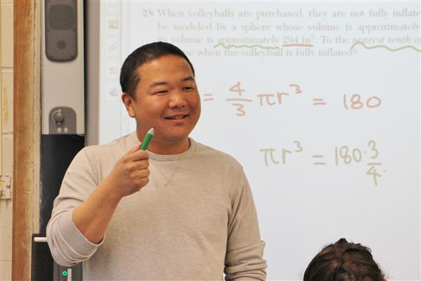 Soowook Lee, Roslyn High School Math Teacher