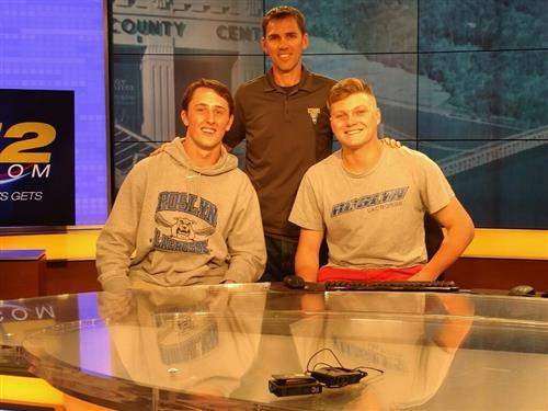 Varsity Boys Lacrosse on News 12's Sports Rush