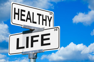 Healthy Life Street Signs