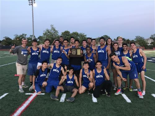 County Champions - Boys Track and Field!