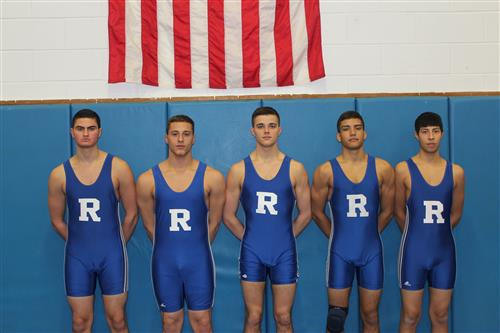 Varsity Wrestling Senior Photos