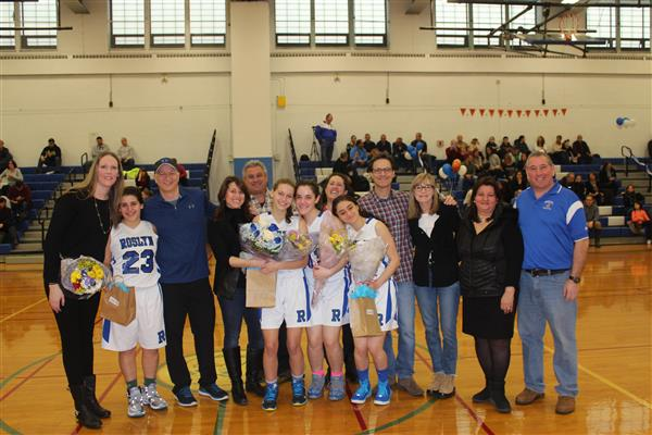 Varsity Girls Basketball Senior Game