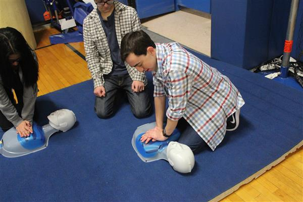Hands Only CPR Training