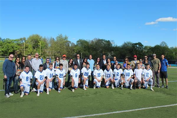 Varsity Boys Lacrosse Senior Game