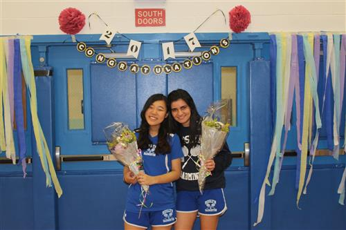 Varsity Girls Badminton Senior Game