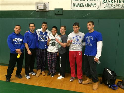 Wrestlers Advance to County Tournament