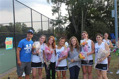 Varsity Girls Tennis Senior Match