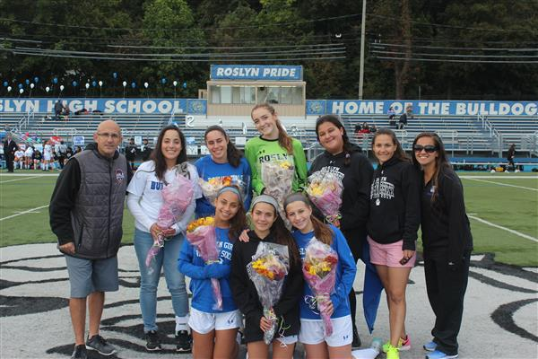Varsity Girls Soccer Senior Match