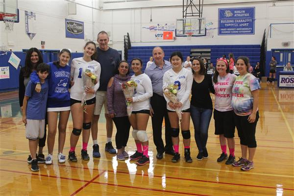 Varsity Girls Volleyball Senior Game