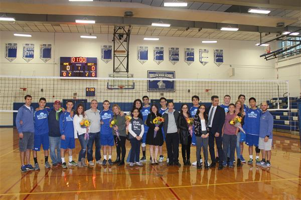 Varsity Boys Volleyball Senior Game