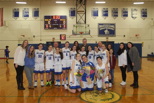 VARSITY GIRLS BASKETBALL SENIOR GAME - 2018