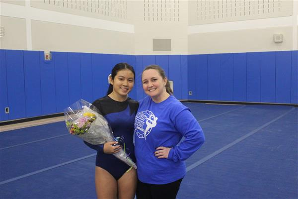 Varsity Gymnastics Senior Meet