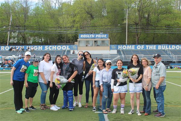 Varsity Girls Lacrosse Senior Game - 2018