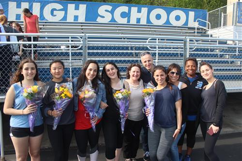 Varsity Girls Track and Field Senior Acknowledgments - 2018
