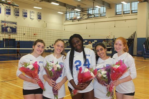 Varsity Girls Volleyball Senior Match