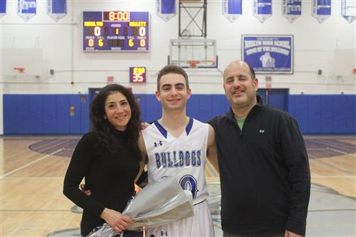 Senior Player and Family