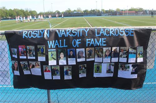 Girls Lacrosse Wall of Fame