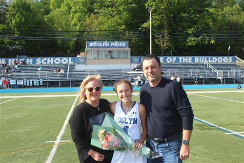 Senior Athlete and Family