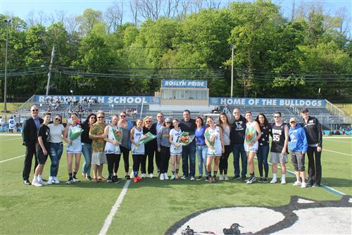 Senior Athletes and Family