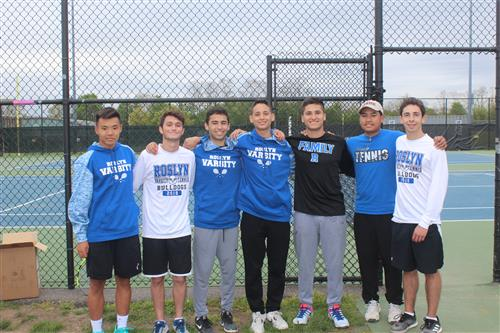 Senior Tennis Players