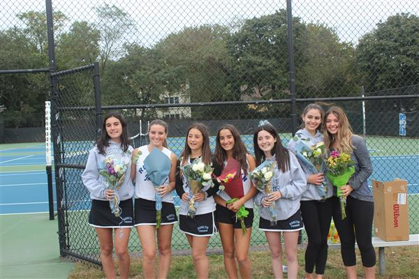 Varsity Girls Tennis - Senior Day 2019