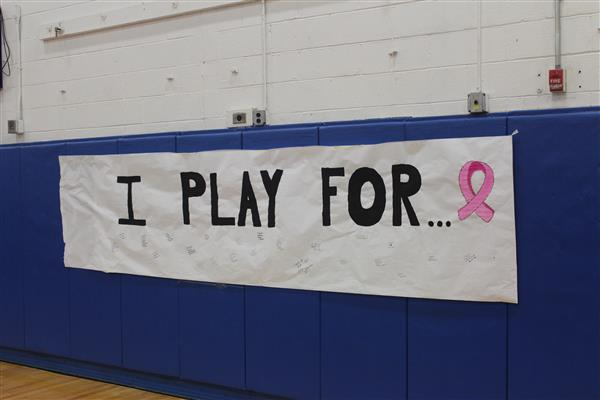 Spike Out Cancer Banner to Sign