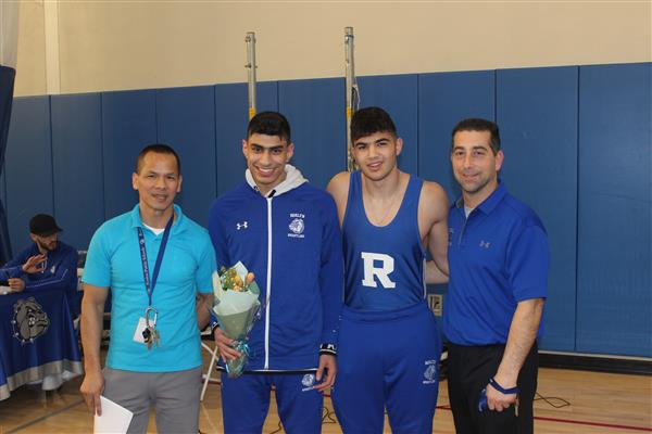 Wrestlers and Coaches