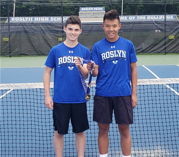 Nassau County Doubles Champions and 4th Place in New York State!