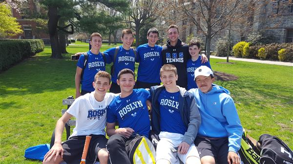 Varsity Boys Tennis Compete in the San Marco Invitational