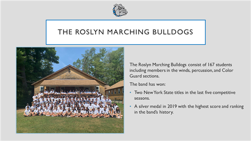 Roslyn Marching Band