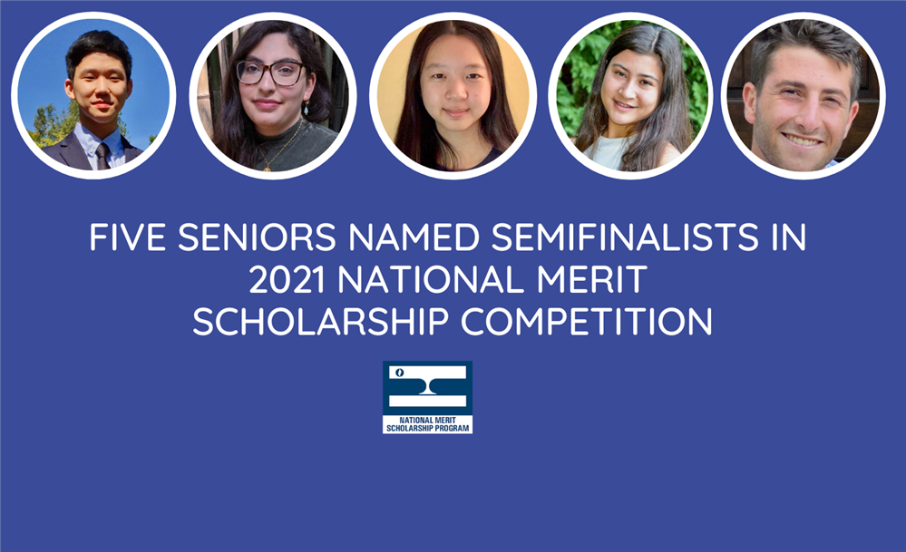 Five Seniors Named National Merit Scholar Semifinalists