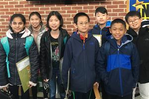 All-County Music Festival Students from Roslyn Middle School