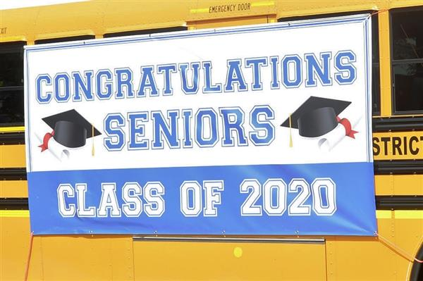 Banner Congratulating the Class of 2020