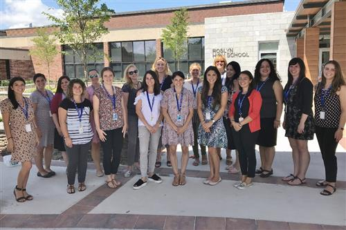 Roslyn's New Teachers for 2018-19
