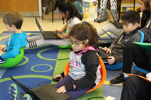 East Hills students learn to use kidOYO
