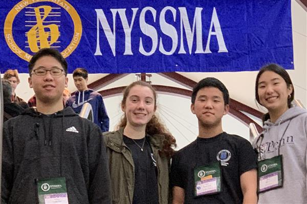 Four Roslyn High School students perform in NYSSMA All State ensembles
