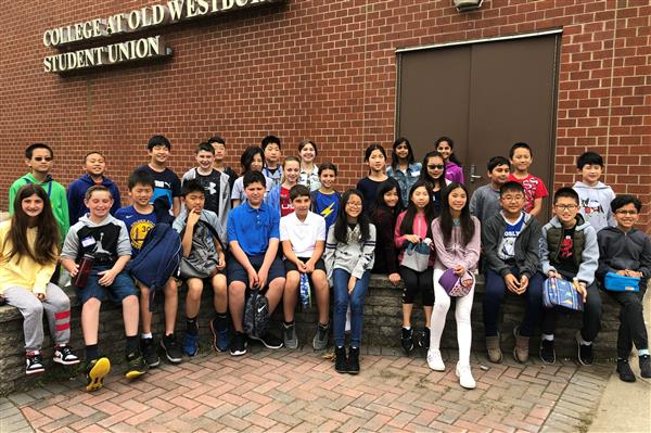 Roslyn students attend Nassau County Math Olympiad