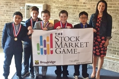 Roslyn winners in Stock Market Game