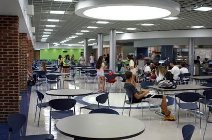 Roslyn High School Cafeteria 2011