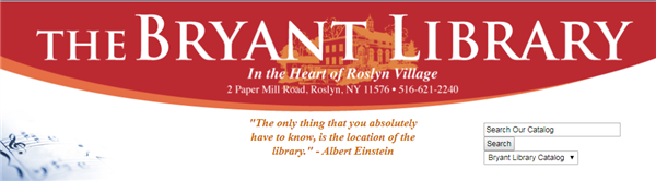 Click for Bryant Library Home Page