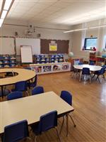 Heights School renovated classroom