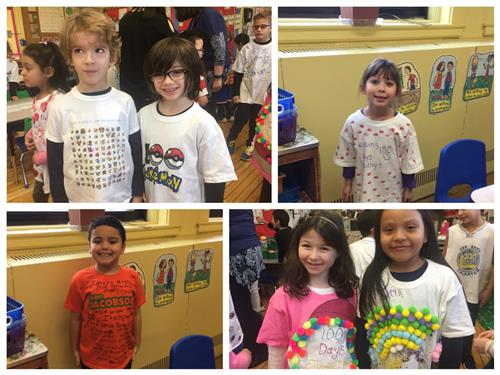 100th Day of School at Heights