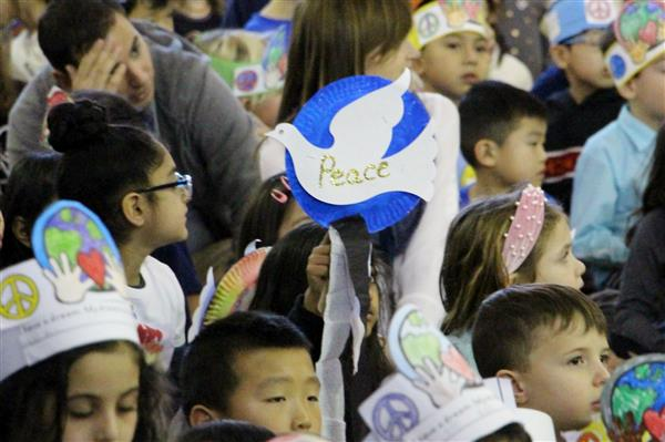 Heights students march for peace in honor of Martin Luther King