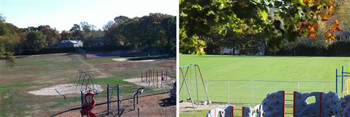 Harbor Hill School playing fields