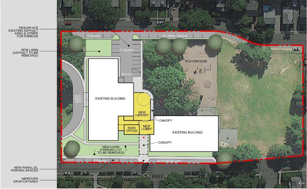 Capital Projects Site Plans Conceptual Renderings – Site Plan Renderings