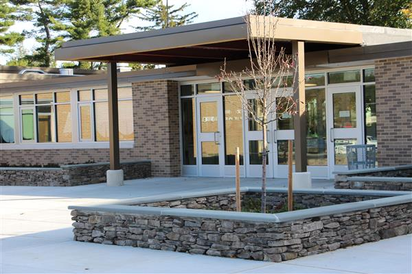 Harbor Hill School New Main Entrance