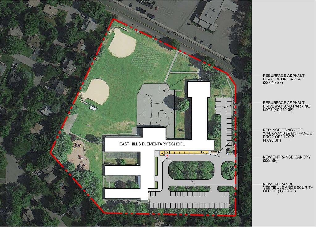 capital projects site plans conceptual renderings